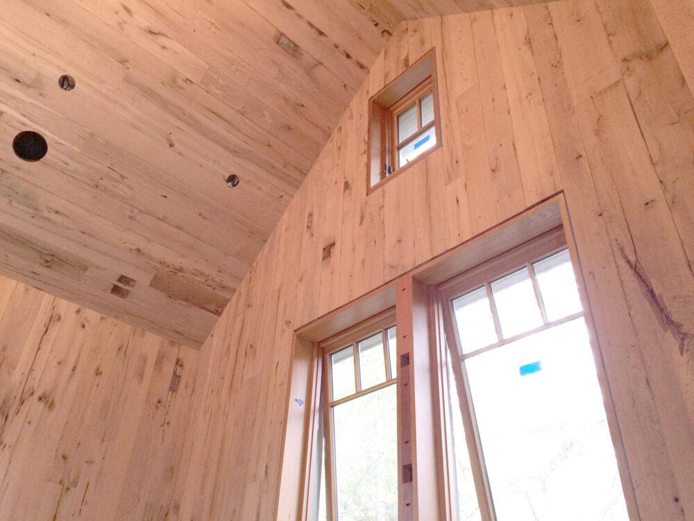 Reclaimed barn siding paneling antique beams boards