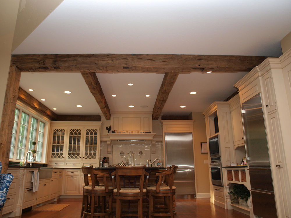Longleaf Lumber - Reclaimed Hand Hewn Beams