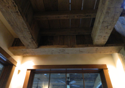 Hand Hewn Beams