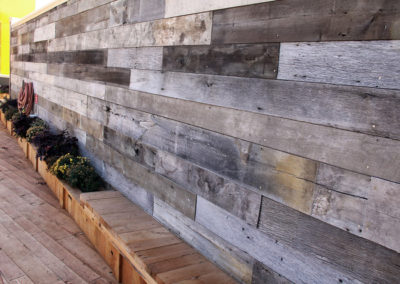 weathered gray barn siding