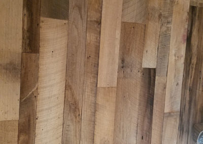 mixed hardwood reclaimed wood barn siding